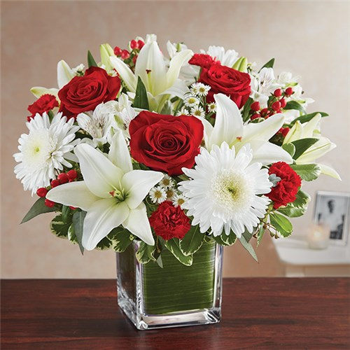 Sarasota florist flowers sarasota fl the flower place local 1 800 flowers healing tears red white mightylinksfo